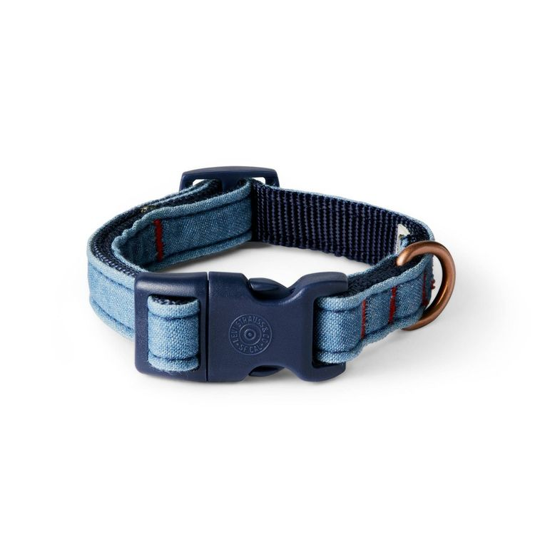 Denim Dog Collar - Blue - Small - Levi's x Target
