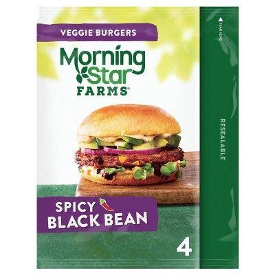 MorningStar Farms® Spicy Black Bean Burgers