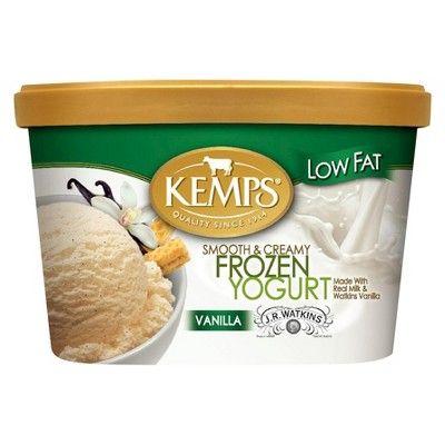 Kemps Low Fat Vanilla Frozen Yogurt - 48oz