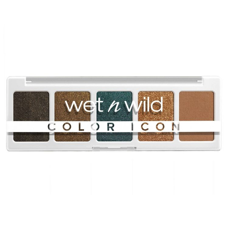 Wet n Wild Color Icon 5-Pan Eyeshadow Palette - My Lucky Charm - 0.21oz