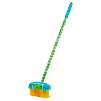 Melissa & Doug Sunny Patch Dilly Dally Push Broom - Pretend Play Toy