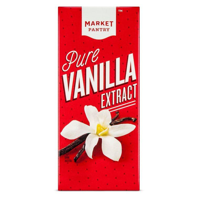 Pure Vanilla Extract - 2oz - Market Pantry
