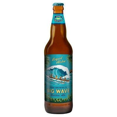 Kona Big Wave Golden Ale Beer - 22 fl oz Bottle