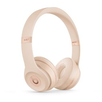 Beats Solo3 Wireless Headphone - Matte Gold