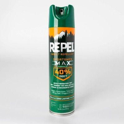 Repel® Insect Repellent Sportsmen Max Formula 40% DEET (Aerosol Twin Pack)