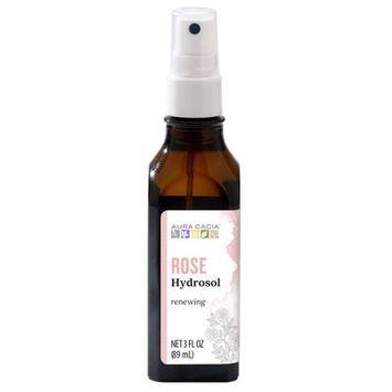 Aura Cacia Rose Hydrosol - 3 fl oz