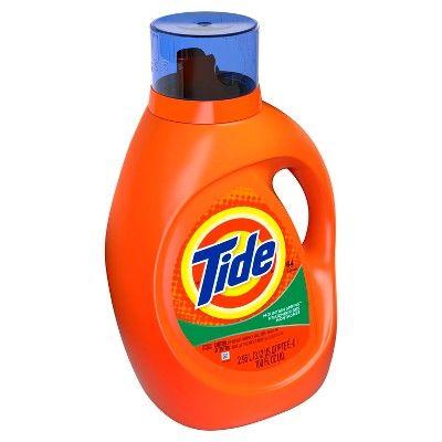 Tide Mountain Spring Liquid Laundry Detergent - 100 fl oz