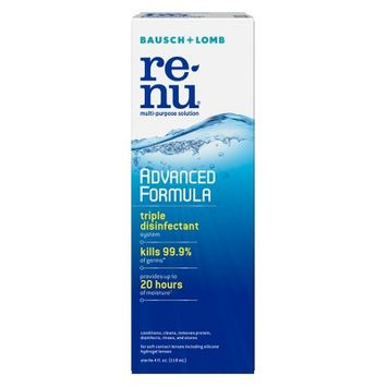 Renu Contact Solution, Advanced Triple Disinfectant Formula - 4oz