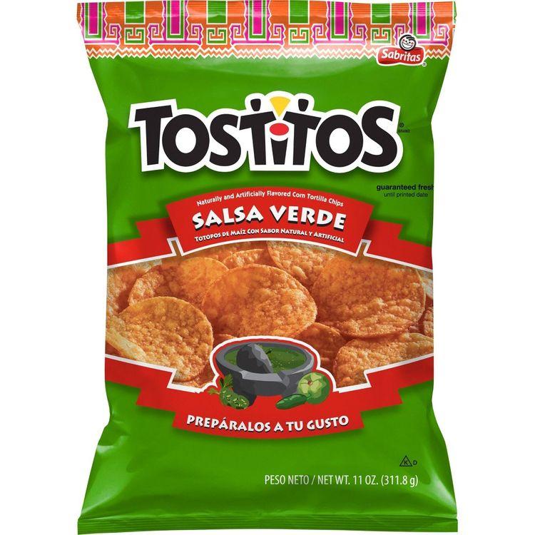 Tostitos Salsa Verde Tortilla Chips - 12.05oz