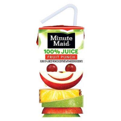 Minute Maid Fruit Punch 100% Juice - 6.75 fl oz Box