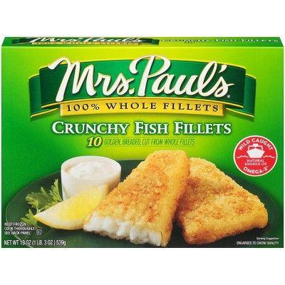 Mrs. Paul's Breaded Fish Fillets - 10ct/19oz