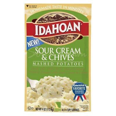Idahoan Sour Cream & Chives Mashed Potatoes - 4oz