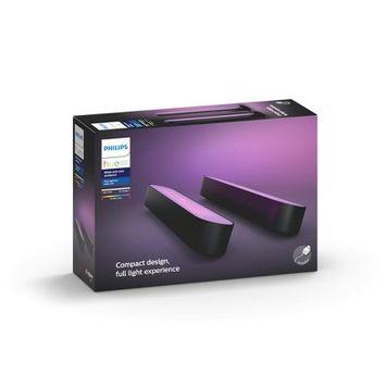 Philips Hue 2pk Play White & Color Ambiance Smart LED Bar Light Black