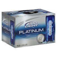 Bud Light Platinum Beer - 12pk/12 fl oz Slim Cans