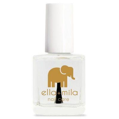 ella+mila Nail Care Quick Dry Top Coat (In a Rush) - 0.45 fl oz