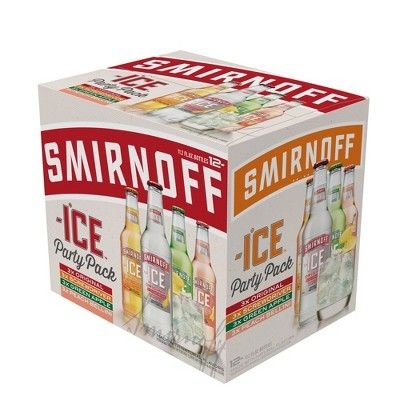 Smirnoff Ice Party Pack - 12pk/11.2 fl oz Bottles
