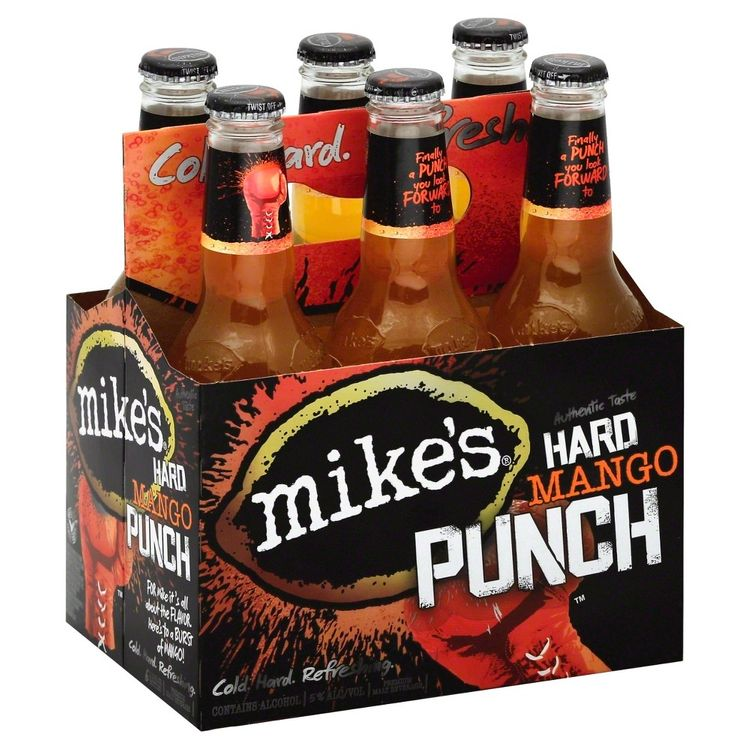 Mike's Hard Mango Punch - 6pk / 11.2 fl oz Bottles