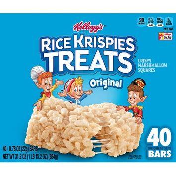 Rice Krispies The Original Treats Crispy Marshmallow Cereal Bars - 40ct - Kellogg's