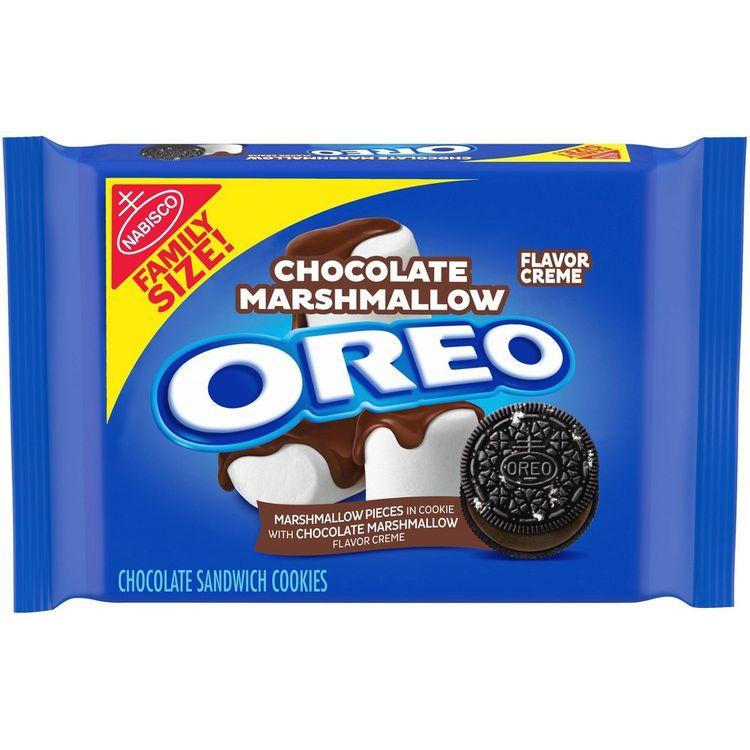 Chocolate Marshmallow Oreo Family Size 17oz