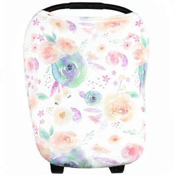 Copper Pearl Bloom Nursing Cover