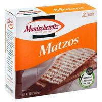 Manischewitz No Salt Matzo Crackers 10 oz