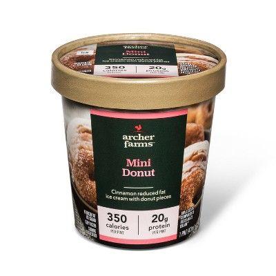 Mini Donut Reduced Fat Ice Cream - 16oz - Archer Farms™