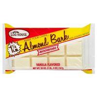 Log House Vanilla Almond Bark - 20oz