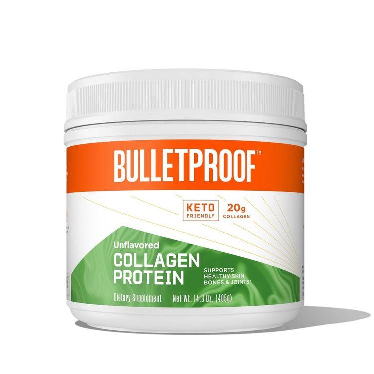 Bulletproof Unflavored Collagen Dietary Supplement - 14.3oz