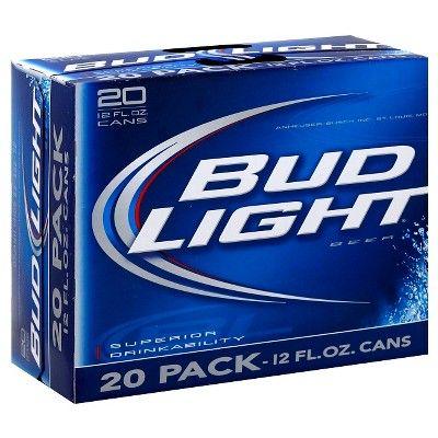 Bud Light Beer - 20pk/12 fl oz Cans
