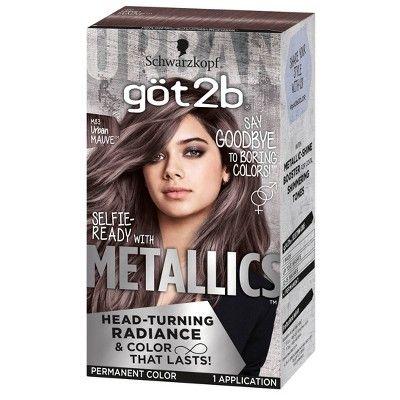 Got2b Metallics - Urban Mauve 12 - 4.8 fl oz