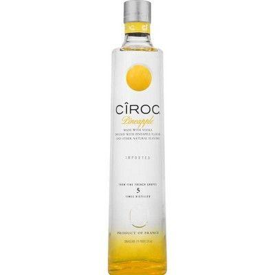 CÎROC Pineapple Flavored Vodka - 375ml Bottle