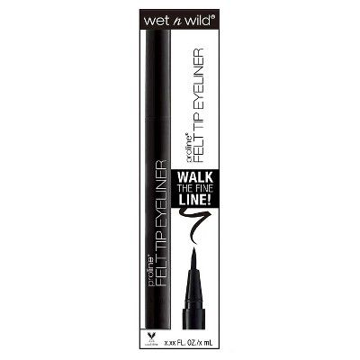 Wet n Wild ProLine Felt Tip Eyeliner - Black - .071oz