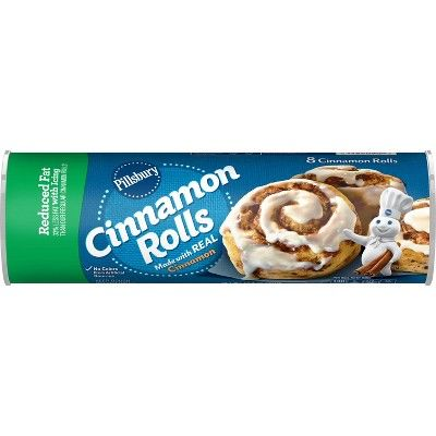 Pillsbury Reduced Fat Cinnamon Rolls with Icing - 12.4oz/8ct