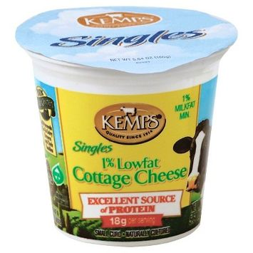 Kemps 1% Low Fat Cottage Cheese Singles - 5.64oz