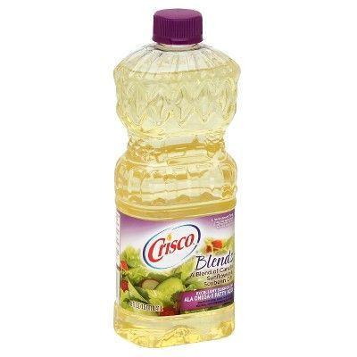 Crisco Natural Blend Vegetable & Canola Oil 48 oz