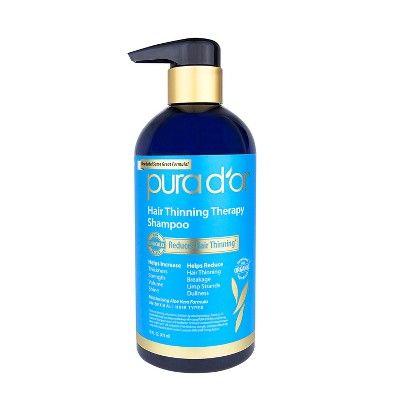 Pura d'or Hair Thinning Therapy Shampoo - 16 fl oz