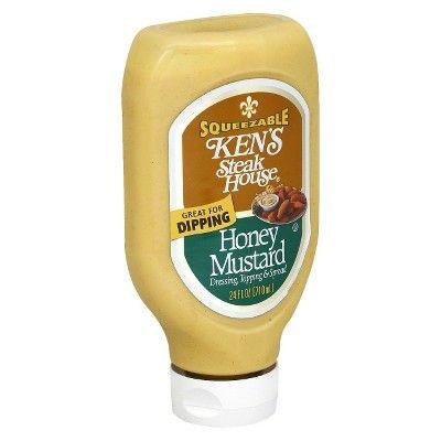 Ken's Steak House Honey Mustard Dressing, Topping & Spread - 24 floz