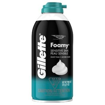 Gillette Foamy Sensitive skin shaving foam