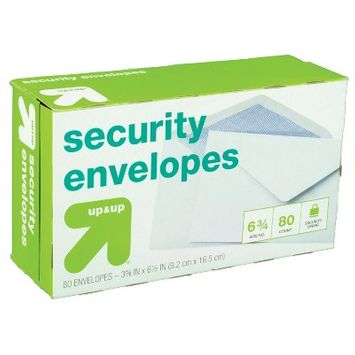 Up & Up Security Envelopes 3.5