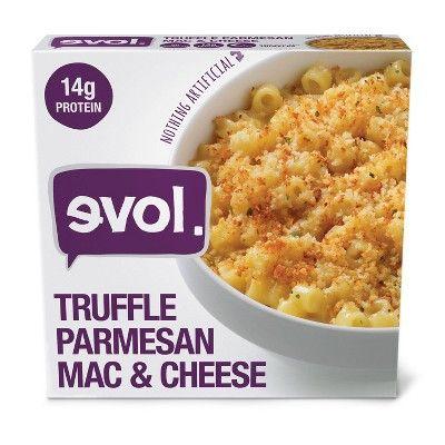 Evol  Frozen Truffle Parmesan Macaroni and Cheese Bowl - 8oz