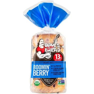 Dave's Killer Bread Boomin Berry Bagels - 5ct