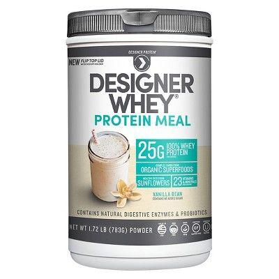Designer Whey Protein Meal - Vanilla Bean - 1.72lbs