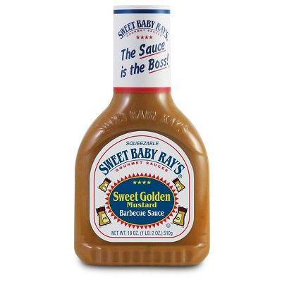 Sweet Baby Ray's Sweet Golden Mustard Barbeque Sauce - 18oz