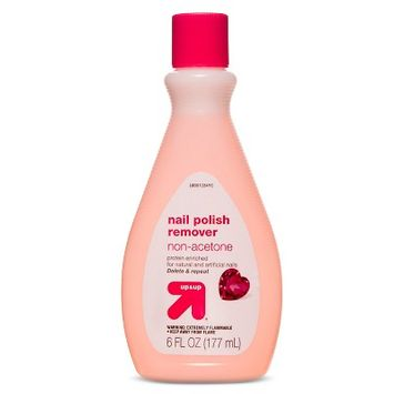 Up & Up Non-Acetone Nail Polish Remover - 6oz - Up&Up