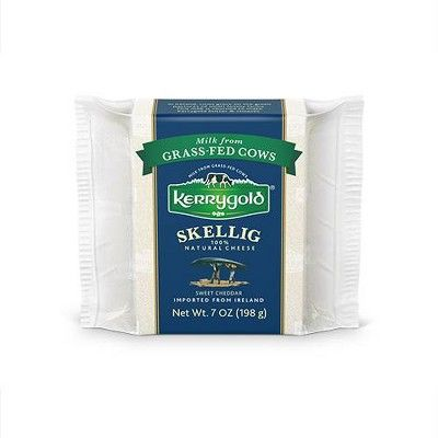 Kerry Gold Skellig 100% Natural Cheese Sweet Cheddar - 7oz