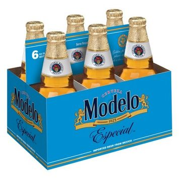 Modelo Especial Lager Beer - 6pk/12 fl oz Bottles