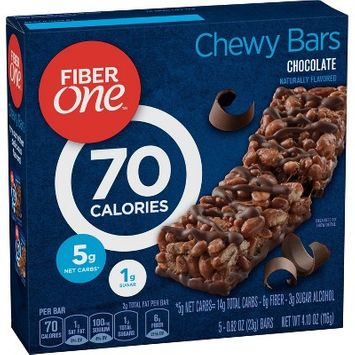 Fiber One Chocolate Chewy Bars 70 Calorie - 5ct