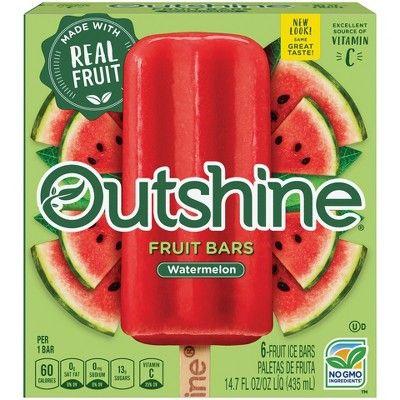 Outshine Watermelon Fruit Bars