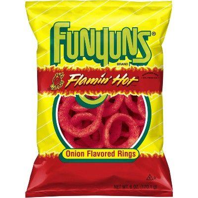 Funyuns Flamin Hot Onion Flavored Rings - 6oz