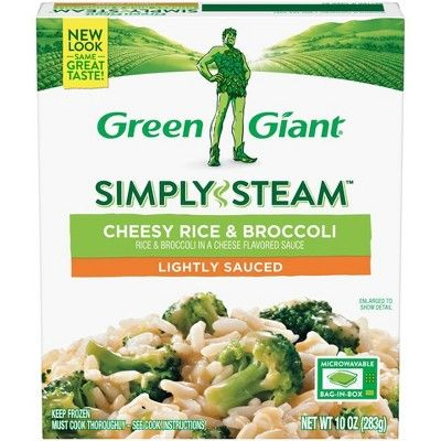 Green Giant Steamers Frozen Cheesy Rice & Broccoli - 10oz